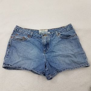 Old Navy Shorts 10 Jean Medium Wash Blue Denim Wom